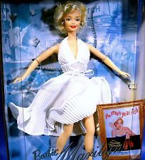 MARILYN MONROE Das verflixte 7. Jahr Barbie Puppe Collector Edition Neu NRFB