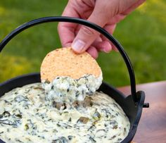 Spinach & Artichoke Dip - This looks so easy i have to make it!!