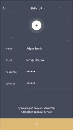Login Page Design, App Ui Design, Mobile App Design, User Interface Design, App Office, Design Your Own Website, Car App, Tablet Ui, Android App Design