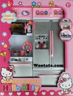Jual mainan peralatan dapur hello kitty terlengkap girls for Kitchen set mainan