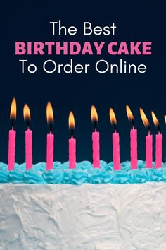 If you're wondering where to order birthday cake online, you've come to the right place. In the list below, you'll find some of the best cake delivery services. Get delicious birthday cake delivered right to your door or shipped nationwide to friends and family. Cookie Dough Recipes, Fudge Recipes, Candy Recipes, Fruit Recipes, Cheesecake Recipes, Dessert Recipes, Order Birthday Cake Online, Birthday Cakes Delivered, Yummy Snacks