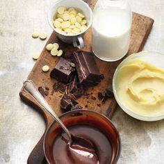 Bester Freund für Tortenboden gesucht? Da haben wir was: extra schokoladige Ganache, die die Herzen von Torten- und Schokofans höher schlagen lässt.