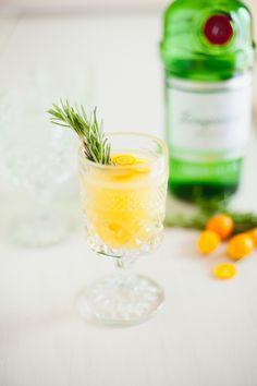 Föstudagskokteillinn: Kumquats ginkokteill með rósmarín