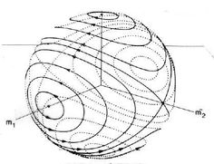 """molded ovals, mid-X, how to see a curve in a circle.....""""hairy ball theorem of algebraic topology states"""