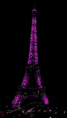 purple ifel tower | Recent Photos The Commons Getty Collection Galleries World Map App ...