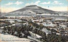 Chattanooga Tennessee (Area) View of Lookout Mountain Antique Postcard V20040