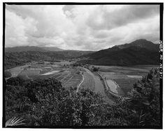 1.  HANALET VALLEY - Haraguchi Rice Mill, Hanalei River, Hanalei, Kauai County, HI