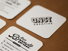 Full re-branding for ONST Creative.Including logo, website and business cards.