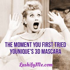YES! I have loved Younique since the moment I first tried my 3D fiber lash mascara. Now I can't go back to regular drugstore mascara. #younique #moodstruck #fiberlashmascara