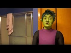 Beast Boy Teen Titans Makeup Tutorial - Watch the video --> http://www.comics2film.com/dc/teen-titans/beast-boy-teen-titans-makeup-tutorial/  #TeenTitans