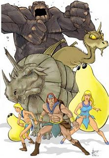 The Herculoids - wasn't made during my time but I loved watching it!