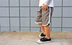 retro short, sew, tutorials, racershort, racer short, retro racer, shorts, short tutori, boy