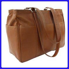 Piel Leather Medium Shopping Bag, Saddle, One Size - Hobo bags (*Amazon Partner-Link)