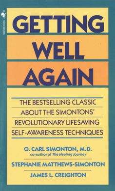 Image result for getting well again book