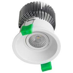 You need this Domus Lighting - Deep 90 13W White LED Down Light Kit