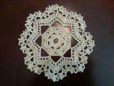 Crochet Beautiful Mini Doily - Pineapples Pattern - Part 1 - YouTube
