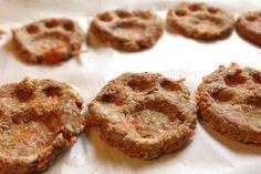 Receta para perros: Cookies de manzana y zanahoria