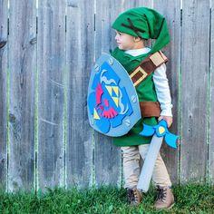 Link halloween costume Zelda  sc 1 st  Pinterest & CUTE! Legend of Zelda: Young Link | Videogames | Pinterest ...