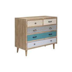 Commode Capri 5 tiroirs Kare Design - Achat / Vente commode de chambre Commode Capri 5 tiroirs Kare Design - Cdiscount