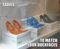 Ladies...Sorry, this is not fair. But they are also perfect for that special evening on an Italian cruise ship.