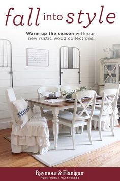 If you love the look of timeworn furniture, you're sure to appreciate this Sagamore 5-piece dining set. Its distressed bisque finish and distressed natural pine-finished tabletop infuse the set with casual beauty. Turned table legs, X-back chairs and padded linen seats complete the charming look.