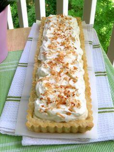 Coconut Cream Tart | Recipes I Need