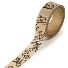 Sheet music washi tape