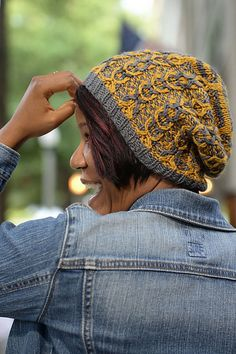шапочка с аранами