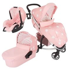 My Babiie Pink Stars Travel System. This beautiful stroller is lovely to push. Includes Carry cot and car seat My Babiie Travel System, Katie Piper, Pink Butterfly, Butterflies, Baby Boutique Clothing, Pink Stars, New Parents, Baby Strollers, Car Seats