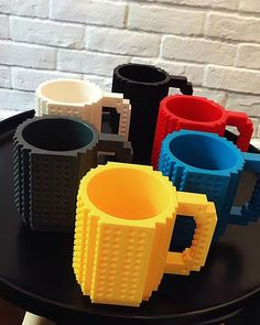 Other mugs just have one purpose only and that is to serve your drink. But this mug has built-in slots for kid's building blocks. You can have separate building blocks and try building a design onto your mug. Relax as you try to build on your mug while sipping coffee or tea. Kids will definitely love this item!