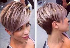 Cute Short Layered Pixie Hair