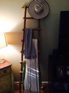 Colombian sombrero always makes good decor! May House, Blanket Rack, First Apartment, Apartment Ideas, Ganapati Decoration, Balinese Decor, Diwali Decorations, Room Themes, New Room