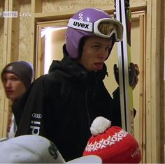 Andreas Wellinger Andreas Wellinger, Ski Jumping, Riding Helmets, Skiing, Celebrities, Wattpad, Boys, Jumpers, Germany