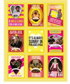 """""""It's Always Sunny In Philadelphia"""" Valentines - BuzzFeed Mobile"""