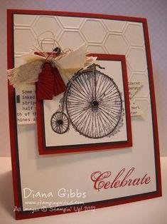 2/5/2013; Elizabeth Martinez  at 'Stamping with Di' blog; Feeling Sentimental stamp set