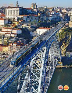 George Washington Bridge, Sydney Harbour Bridge, Cuba, Portugal, Landscape, Travel, Porto, Beautiful Places, Scenery