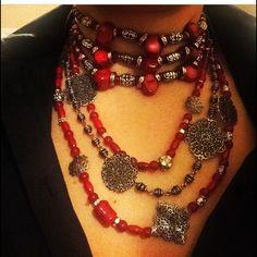 Handmade half coral necklace Handmade half coral necklace Jewelry Necklaces