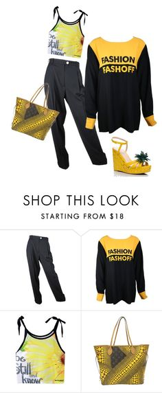 """5 EASY PIECES"" by melange-art ❤ liked on Polyvore featuring Louis Vuitton and Kate Spade"