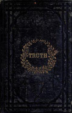 nemfrog: Book cover. Truth. 1854.
