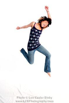 Title: Jump - No. 002 -   Photo: Lon Casler Bixby -   Web: www.neoichi.com -   Model: Carinna