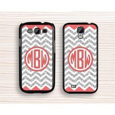 monogram Samsung case,rubber samsung Note 3,chevron samsung Note 2,best seller Galaxy S3 case,silver Galaxy S4 case,monogram Galaxy S5 case - Samsung Case