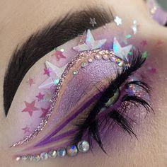 Edgy Makeup, Makeup Eye Looks, Beautiful Eye Makeup, Eye Makeup Art, Colorful Eye Makeup, Soft Makeup, Cute Makeup, Makeup Inspo, Eyeshadow Makeup