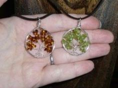 Learning how to make a tree of life pendant using only wire and beads is a lot of fun - there's so much room for experimentation once you get the hang of the basics!  For example, you can modify the way that you make the pendant bale, change the...