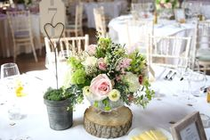beautiful table decorations Heather Carpenter flowers, The Granary Barn's…