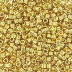 Miyuki Delicas 11/0 DB0031 - 24kt Gold Plated x5g