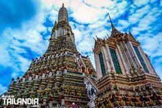 Descubre los 5 templos en Bangkok más destacados y que no te puedes perder en tu viaje a Tailandia. Vienes con nosotros a pasear por ellos? #tailandia #bangkok #templos #vacaciones #viajar http://ift.tt/2llxObg