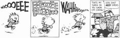 Calvin and Hobbes Daily: Guess who just got home? #Comics