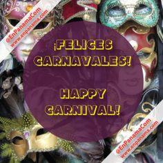 ¡Felices carnavales! A divertirse sanamente y sobretodo a cuidarse mucho. | Happy Carnival! To have healthy fun and above all take care. | #PANAMA #EnPanama #TRAVEL #VIAJES #CARNIVAL #CARNAVALES | http://www.enpanama.com ♥ https://www.facebook.com/en.panama