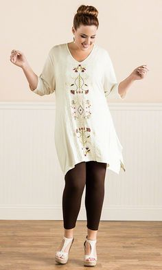 Azura Tunic / MiB Plus Size Fashion for Women / Summer Fashion / Caite Fashion http://www.makingitbig.com/product/5284