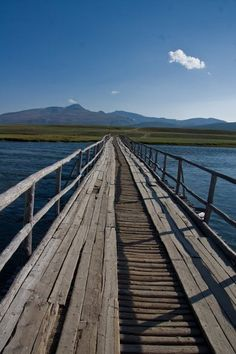World's Scariest Bridges Revealed In Stomach Churning Photos - Time To Break - One Car at a time - 100 m - Mongolia